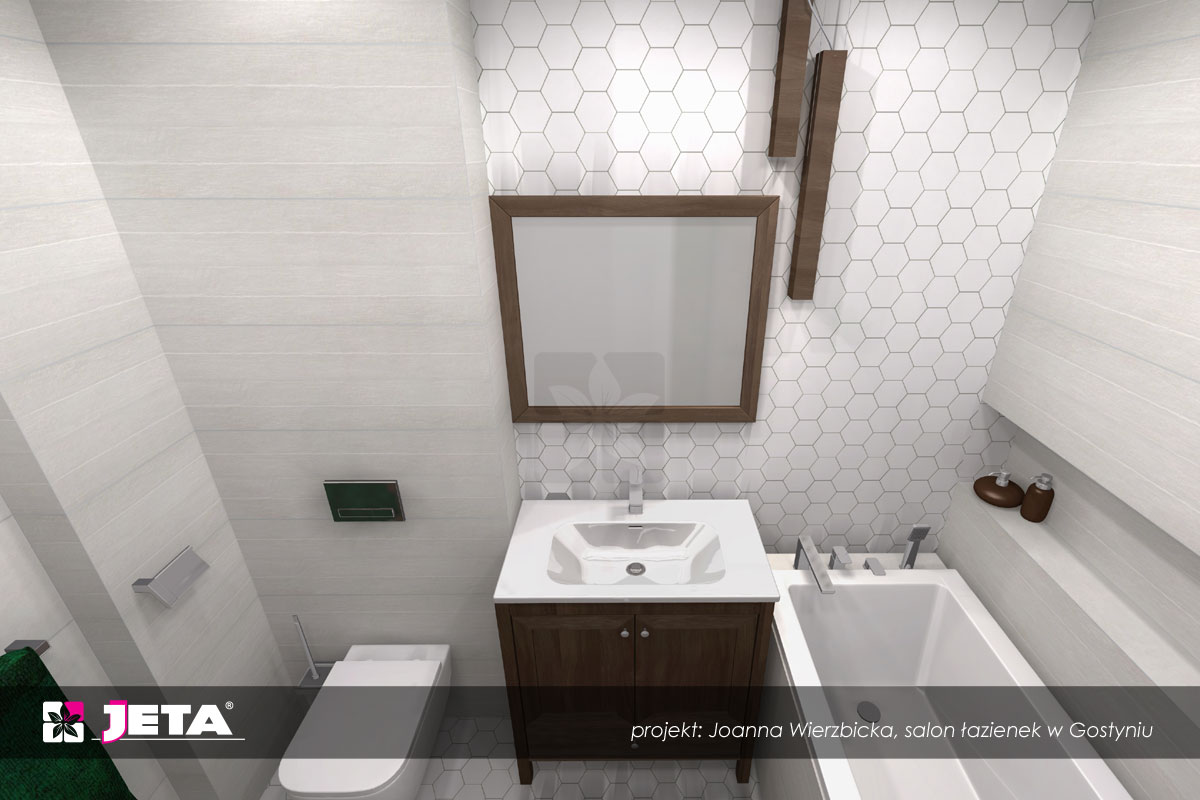 mozaika w łazience